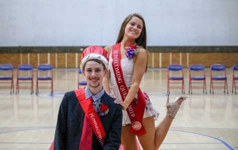 Trevor Christoffersen and Keely Behan (Homecoming Court)