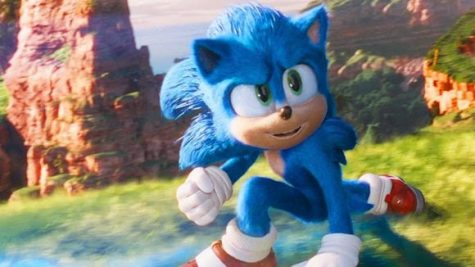 Sonic zooms into action  Image Credit: Cartoon Brew